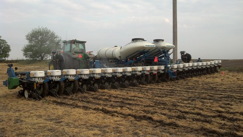 Planting Corn, Finally